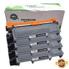 4 X High Yield Black Toner Cartridge for Brother TN660 TN630 DCP-L2540DW Printer