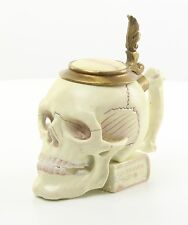 Skull Drinking Jar Porcelain Bronze Jug Tumbler Students Fellows Shank