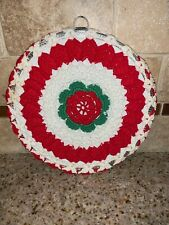 Vintage Stove Chimney Pipe Flue Cover Farmhouse  CROCHET HAND MADE #0073