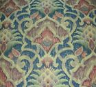 VINTAGE ANTIQUE TAPESTRY FABRIC 3 PIECES+