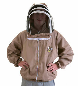 Beekeeping Cappuccino Fencing Jacket- All Sizes