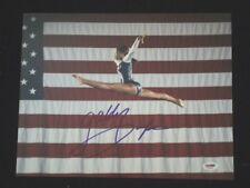 "USA FIERCE FIVE GABBY DOUGLAS AUTOGRAPHED 11"" x 14"" PHOTOGRAPH PSA DNA AD38156"