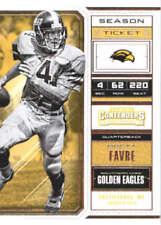 Cartes de football américain Brett Favre