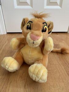 "Vintage Applause Disney Lion King Simba Cub Hand Puppet Plush Stuffed Animal 9"""