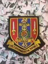 45 Commando Royal Marines Regimental Blazer Badge Bullion  SN