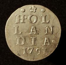 Niederlande, Provinz Holland, 2 Stüber (Dubbele Wapenstuiver) 1791