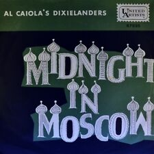 """7"""" AL CAIOLA'S DIXIELANDERS Midnight in Moscow/Lady Of Spain UNITED ARTISTS 1962"""