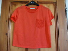 PRIMARK.  CORAL LIGHTWEIGHT KNIT TOP.  SIZE 16.