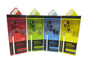 Kopfhörer mit Mikrophone Handy 120 cm Kabel 3,5mm Stereo 213