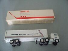 GARDNER TRUCKING COMPANY TRACTOR TRAILER DIECAST WINROSS TRUCK