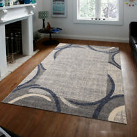 Blue, Gray, Brown or Red Area Rugs Carpet by MSRUGS Made in Turkey