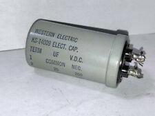 Western Electric 3 Section Electric Capacitor, MPN KS-14009