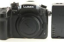 Panasonic LUMIX GH4 16MP Pro 4K Mirrorless Camera Body ONLY 1320 SHUTTER