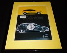 2002 Ford Focus ZX3 Framed 11x14 ORIGINAL Vintage Advertisement