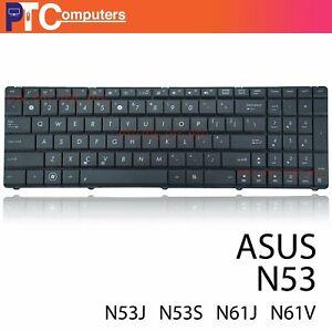 Keyboard for ASUS N53 N53JQ N53JF N53JG N53SV F55A F55C series US black