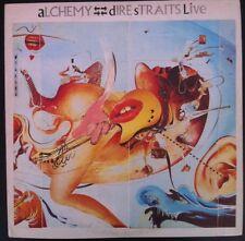 Dire Straits Alchemy Live Lp Rare Import Venezuela Pressing Gatefold