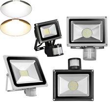 PIR 20W/30W/50W/80W LED SMD Flood Light With Motion Sensor Garden Security Lamp