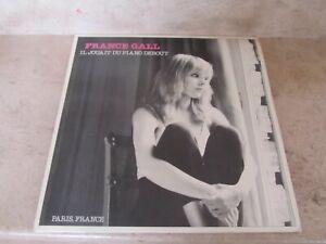 original Lp France Gall - Il jouait du piano debout (1980) 50707