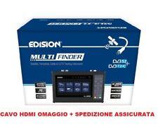 MISURATORE DI CAMPO DVB-S / S2, T / T2 / C e CCTV H265 HEVC DISPLAY 7'' EDISION