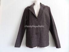 Bianca Dark Brown Wool Jacket - Size 18 - BNWOT