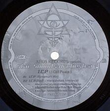 """STAR SOUNDS ORCHESTRA ICP I CALL PEACE RARE ORIGINAL 12"""" vinyl ITP 010 1995"""