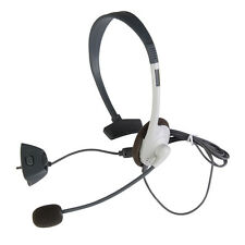 New Live Head Set Microphone HeadPhone For XBOX 360 Headphone Phone
