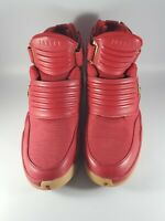 Nike Mens Air Jordan Generation 23 Round Toe Red Gold Athletic Shoes Size 9.5