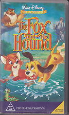 PAL VHS VIDEO TAPE :  WALT DISNEY CLASSICS :THE FOX AND THE HOUND