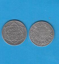 § Gertbrolen Silver Coin  Maroc 2, 50 Dirhams en  argent 1329 Paris