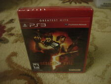 Resident Evil 5  greatest hits (Sony Playstation 3, 2009) new ps3