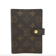 Louis Vuitton Monogram Agenda Wallet Notebook Cover + Calendar + More