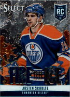 2013-14 Select Fire on Ice Rookies Blue #FR12 Justin Schultz - NM-MT