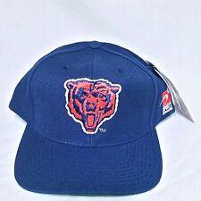 VTG Chicago Bears Sports Specialties Snapback Hat NWT 90s Cap Big Logo Script