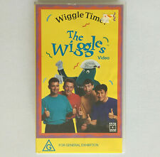 The Wiggles Wiggle Time! VHS PAL VIDEO