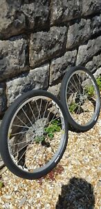 """Mavic crossmax sl 26' and excellent condition """"snake skin"""" tyres"""
