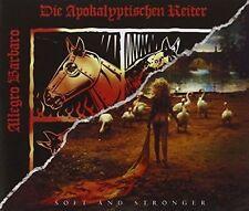 DIE APOKALYPTISCHEN REITER - ALLEGRO BARBARO/SOFT & STRONGER NEW CD