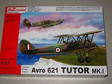 1/72 Scale AZ Models Avro 621 TuTor Mk.1 Famous British Trainer
