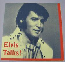Elvis Presley Elvis Talks! Rare Radio Production CD
