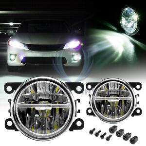 For 12-21 Honda Pilot 2x LED 60W Fog Light Clear Lens OEM Quality Replacement F5