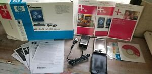 hp ipaq pocket pc rx3115 3100 series box, manuals, cds, charger, case, stylus