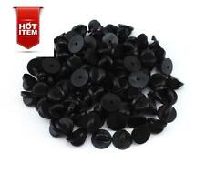 100 Pack Rubber Pin Backs Holder PVC Clutch Badge Lapel Pin Tie Tacks Jewelry