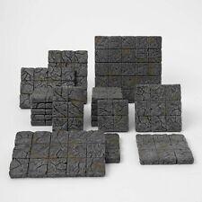 Panda Tabletop | Modulares 19-Teiliges Dungeon Boden/Tiles Set | Handbemalt