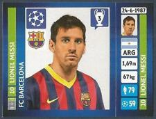 PANINI UEFA CHAMPIONS LEAGUE 2013-14- #554-BARCELONA-LIONEL MESSI