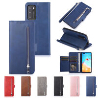 Case For Huawei P20 P30 P40 Mate 20 Pro PU Leather Flip Wallet Phone Cover