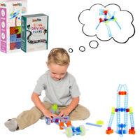 47pc Brackitz Discovery Vehicle Building Set: STEM Kids' Educational Learning