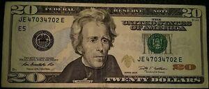 $20 dollar bill descending 4703 4702