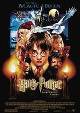 Harry Potter und der Stein der Weisen (2001) | US Import Filmplakat, Poster