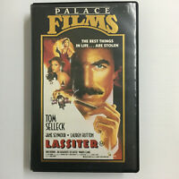 Lassiter. VHS Video Tape Tom Selleck Bob Hoskins Palace Academy Clamshell 1984