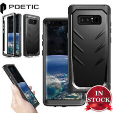 Samsung Galaxy Note 8 Case Genuine Poetic Revolution Full-body Rugged Cover Bk