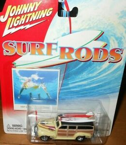 J / L    SURF  RODS  1941  CHEVY   SPECIAL  DELUXE  WAGON   yr 2003  scale  1/64